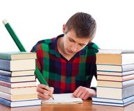 Creative writing Stock Photos
