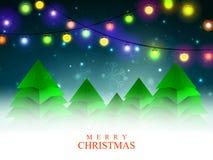 Creative Xmas Trees for Merry Christmas. Stock Photos