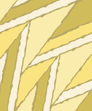 Creative yellow  background. Abstract light dark background.parallelogramm. Flat .Vector illustration. Royalty Free Stock Photos
