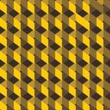 Creative yellow design. Yellow design pattern background Stock Image
