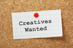 Creatives Wanted Stock Images