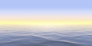 Creatividad abstracta del diseño del fondo del panorama de la superficie y de las reflexiones del agua stock de ilustración