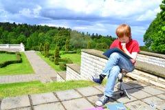 Creatividad de los niños Imagen de archivo libre de regalías