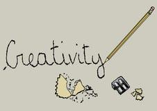creatividade ilustração do vetor
