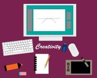 creatividade ilustração stock