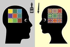 Creatività dal genere illustrazione vettoriale