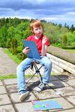Creatività dei bambini Immagine Stock Libera da Diritti