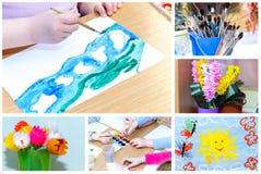Creatività dei bambini Immagini Stock