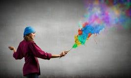 Creatività ed arte Fotografia Stock