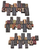 Creatività, ispirazione e motivazione Fotografia Stock Libera da Diritti