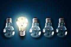 Creatività ed innovazione Fotografia Stock Libera da Diritti
