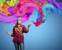 Creativiteit en art. Royalty-vrije Stock Afbeelding