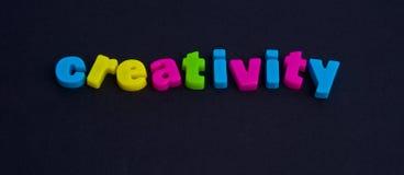 Creativiteit: mogelijk embleem. Royalty-vrije Stock Foto