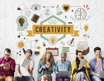Creativity Ability Aspirations Create Development Concept stock image