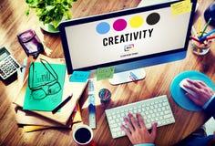 Creativity Aspiration Inspiration Inspire Skills Concept Royalty Free Stock Photography