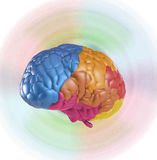Creativity brain. Creativity concept with 3d rendering colorful brain Royalty Free Stock Photo