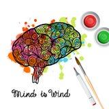 Creativity Brain Concept Royalty Free Stock Photo