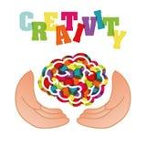 Creativity brain Stock Image