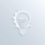 Creativity bulb Royalty Free Stock Photo