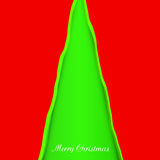 Creativity christmas tree Stock Photography