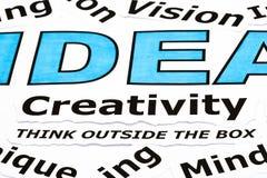 Creativity Concept Royalty Free Stock Photo