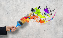 Creativity concept Royalty Free Stock Photos
