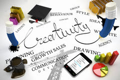 Creativity concept Royalty Free Stock Photo