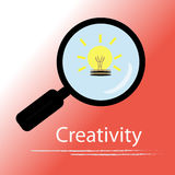 Creativity concept vector Stock Photography