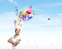 Creativity concept Royalty Free Stock Photography