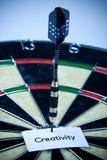 Creativity on dart! Royalty Free Stock Image