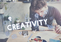 Creativity Design Process Graphics Concept Royalty Free Stock Image