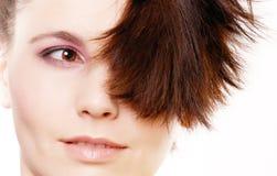 Creativity hairstyle Royalty Free Stock Photos