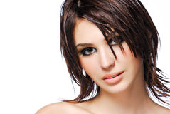 Creativity hairstyle Royalty Free Stock Images