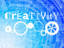 Creativity High Tech Background Royalty Free Stock Photo