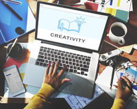 Creativity Ideas Education Knowledge Connection Technology Conce Royalty Free Stock Photography