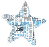 Creativity and ideas and vision Stock Photography
