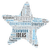 Creativity ideas and vision Stock Image