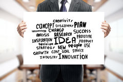 Creativity and innovation concept Stock Image