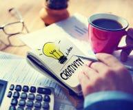 Creativity Light Bulb Inspiration Concepts Ideas Concept Royalty Free Stock Photo