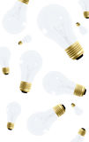 Creativity - lightbulbs Royalty Free Stock Photo