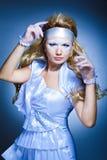 Creativity make-up with stylish hairstyle Stock Photo