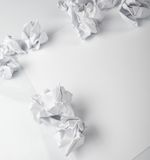 Creativity problems Royalty Free Stock Images