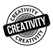 Creativity rubber stamp Royalty Free Stock Images