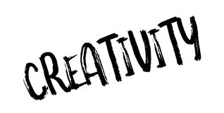 Creativity rubber stamp Royalty Free Stock Photography