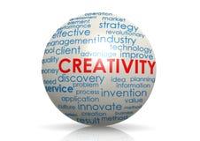 Creativity sphere Stock Image