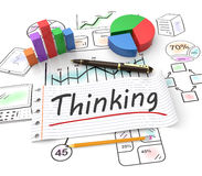 Creativity and thinking Royalty Free Stock Image