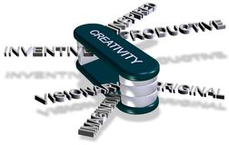 Creativity tools Royalty Free Stock Photo