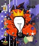 Creativo ilustração royalty free
