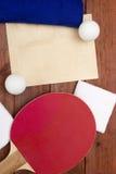 Creativo en el tema de los tenis de mesa Foto de archivo libre de regalías