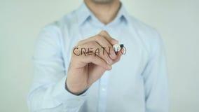 Creativo Squadra,创造性的队,写用意大利语在透明玻璃 股票视频
